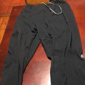 Men's L Lululemon Sweat pants Black